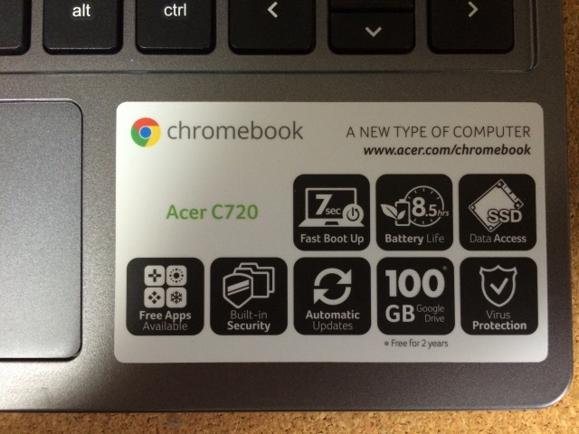 「A NEW TYPE OF COMPUTER」 Chromebookは使えるか?(後編)