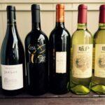 交流会のワインリスト