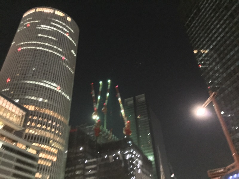 名古屋は暑かった