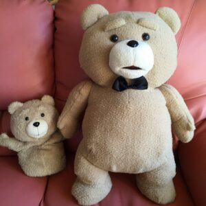 TEDのぬいぐるみ
