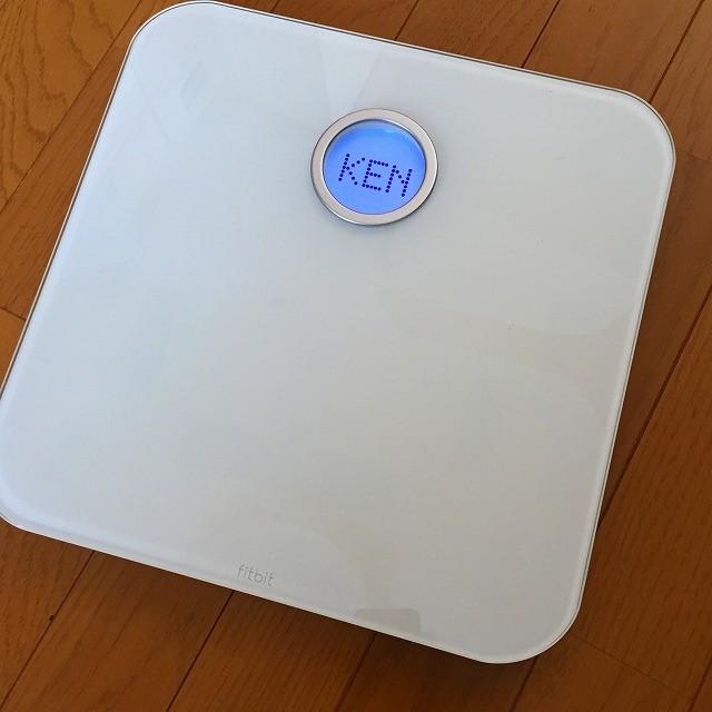 ネット接続体重計