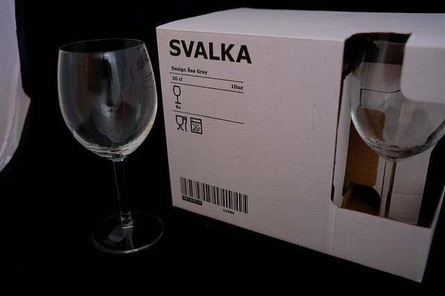お手軽なワイングラス