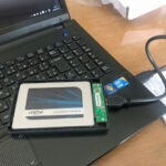 ノートPCのHDDをSSDに交換したら、爆速!!①