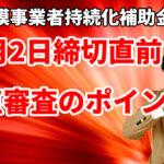 【持続化補助金】10月2日締切直前!最終確認 加点審査のポイント